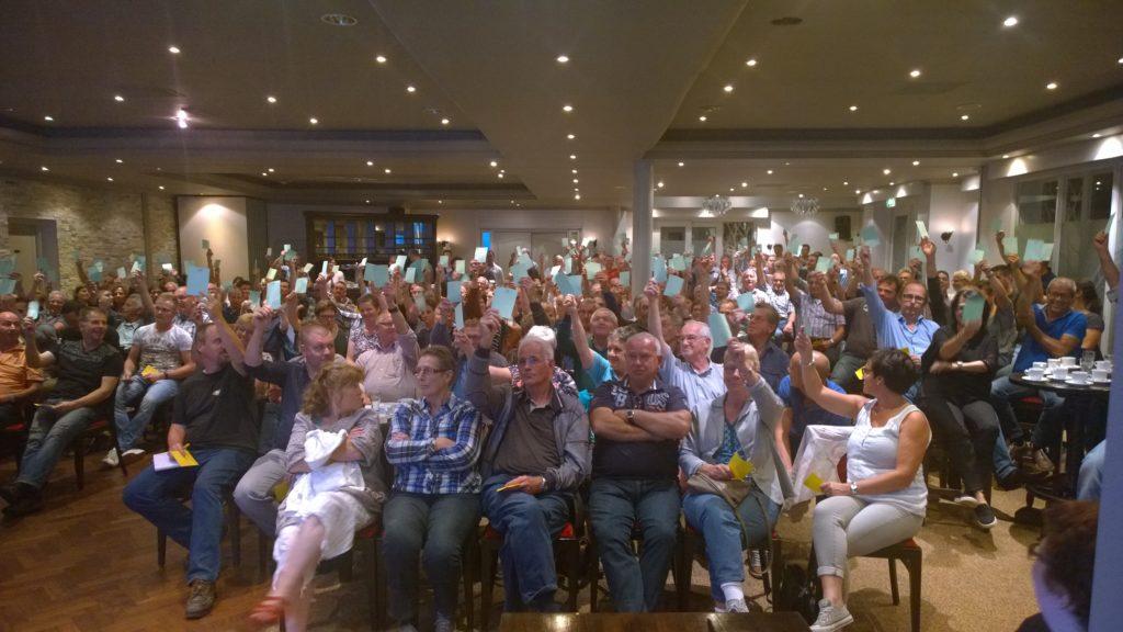 Op dinsdag stemde de leden van Reusel-De Mierden Ja